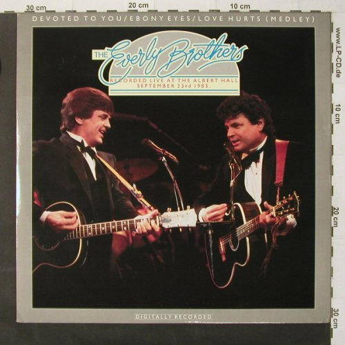 Everly Brothers: Devoted To You +3-Live'83, Impression(IMST I), UK, 1983 - 12inch - E6755 - 3,00 Euro