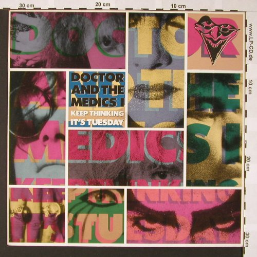 Doctor & The Medics: Keep Thinking It's Tuesday, IRS(ILP 460081 1), NL, 1987 - LP - E6852 - 5,50 Euro