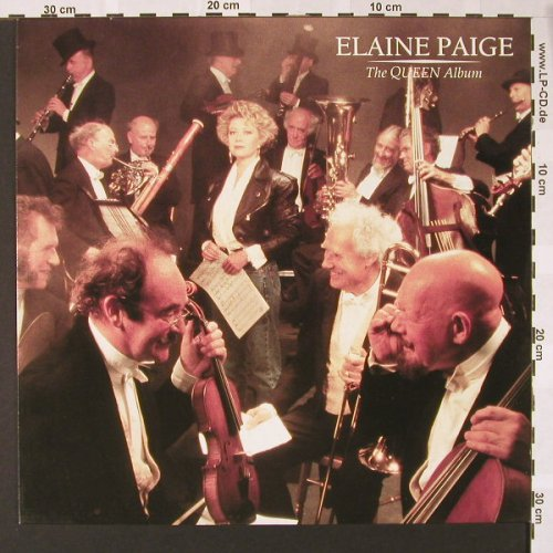 Paige,Elaine: The Queen Album, Siren/Virgin(209 434-630), D, 1988 - LP - E6939 - 6,00 Euro