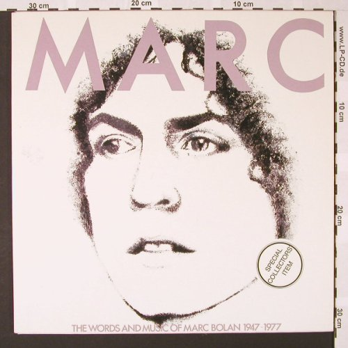 Bolan,Marc: Marc-Words And Music 1947-77, Cube(853 019/20), B,  - 2LP - E7040 - 9,00 Euro