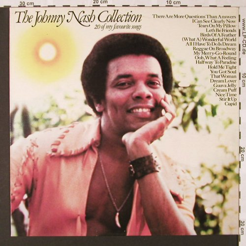 Nash,Johnny: The Johnny Nash Colection, Epic(EPC 10008), NL, 1977 - LP - E7184 - 5,50 Euro