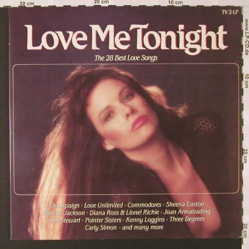 V.A.Love Me Tonight: The 28 Best Love Songs, Arcade Crown(ADEH 90), NL, 1982 - 2LP - E7190 - 5,00 Euro