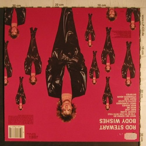 Stewart,Rod: Body Wishes, WEA(92-3877-1), D, 1983 - LP - E7269 - 5,00 Euro