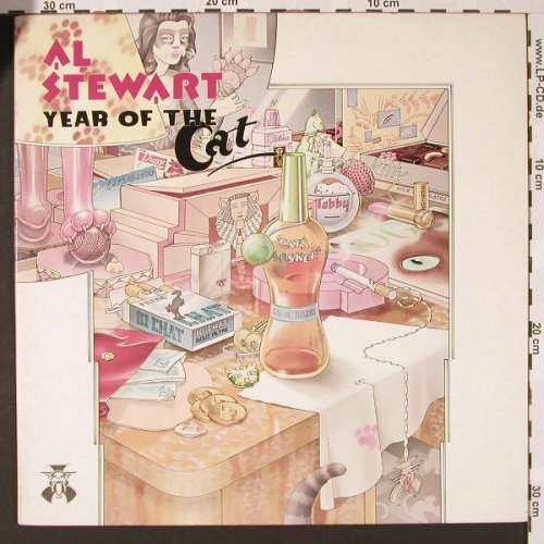 Stewart,Al: Year Of The Cat, Foc, RCA(PL 25042), I, 1977 - LP - E7272 - 4,00 Euro