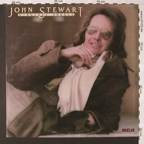 Stewart,John: Wingless Angels, RCA(SF 8437), UK, 1975 - LP - E7273 - 7,50 Euro