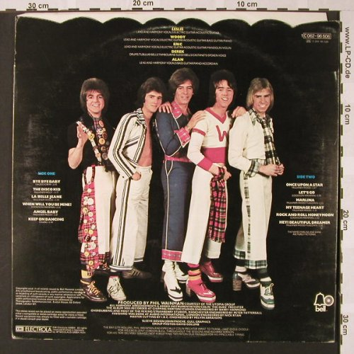 Bay City Rollers: Once Upon A Star, Bell(C062-96 506), D, 1975 - LP - E7389 - 7,50 Euro