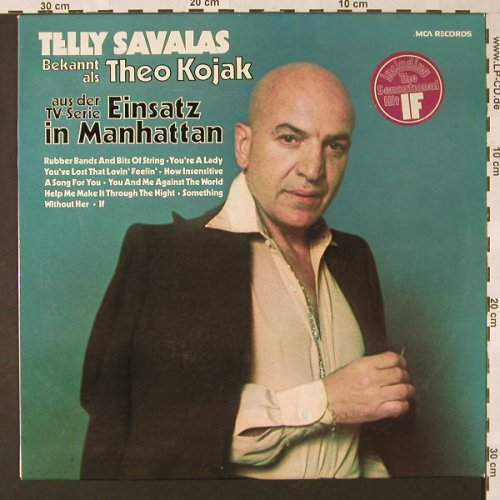 Savalas,Telly: Same, MCA(6.22086 AS), D, 1974 - LP - E7480 - 5,00 Euro
