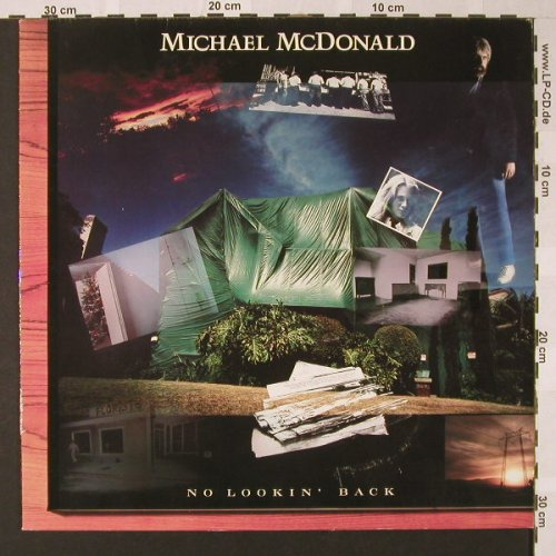 Mc Donald,Michael: No Lookin'Back, WB(925 291-1), D, 1985 - LP - E7753 - 5,50 Euro