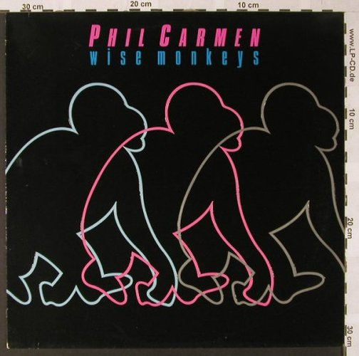 Carmen,Phil: Wise Monkeys, Metronome(829 051-1), D, 1986 - LP - E7810 - 5,00 Euro