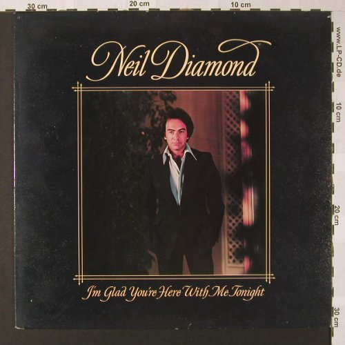 Diamond,Neil: I'm Glad You're Here With Me Tonigh, CBS(CBS 86044), NL, 1977 - LP - E8126 - 5,00 Euro