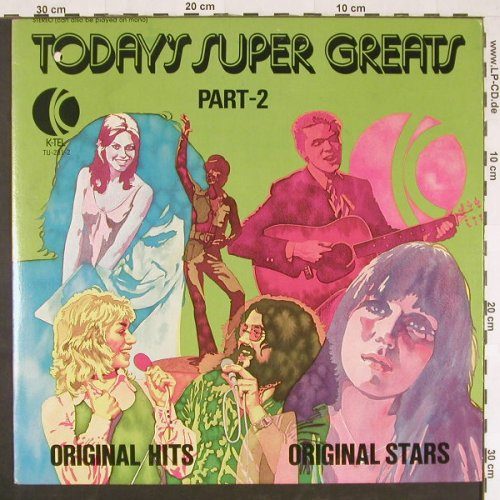 V.A.Today's Super Greats: Part 2, co, K-TEL(TU-231-2), US, 1974 - LP - E823 - 5,00 Euro