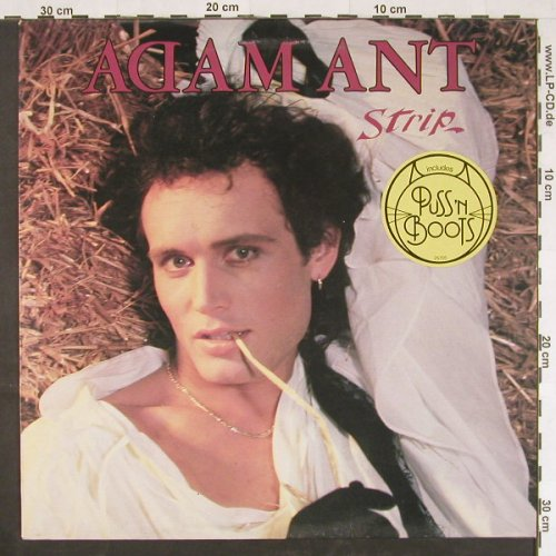 Adam Ant: Strip, CBS(CBS 25 705), NL, 1983 - LP - E837 - 5,50 Euro
