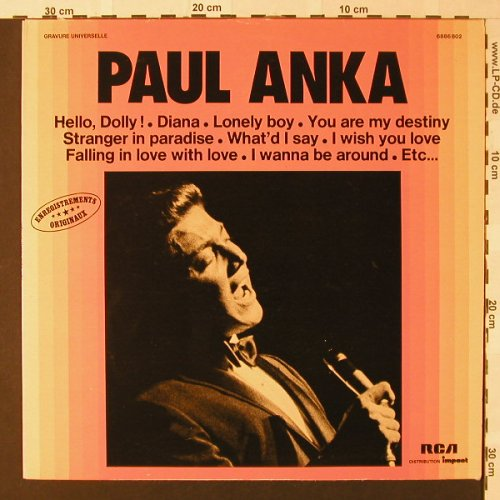 Anka,Paul: Same, Impact(6886 802), F,  - LP - E8766 - 4,00 Euro