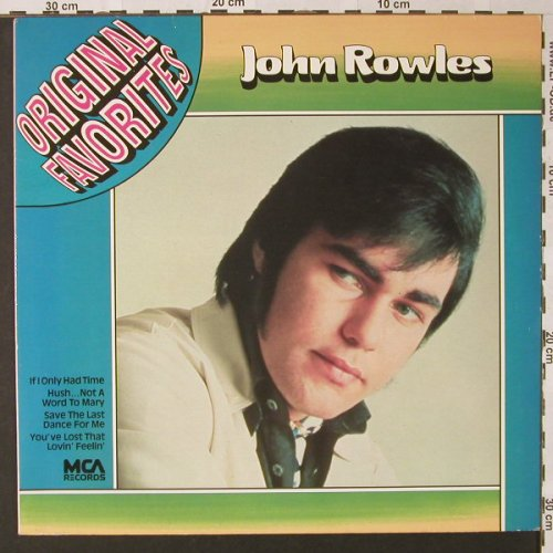 Rowles,John: Original Favorites, MCA(202 949-241), D,  - LP - E8970 - 4,00 Euro