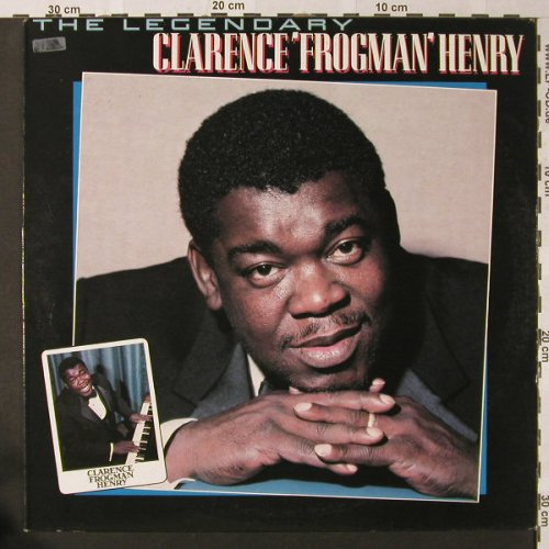 Frogman Henry,Clarence: The Legendary, Silvertone(STLP 3001), UK, Ri, 1983 - LP - E9000 - 5,50 Euro