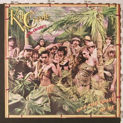 Kid Creole & Coconuts: Off The Coast Of Me, ZE(202 903-320), D, 1980 - LP - E9089 - 4,00 Euro
