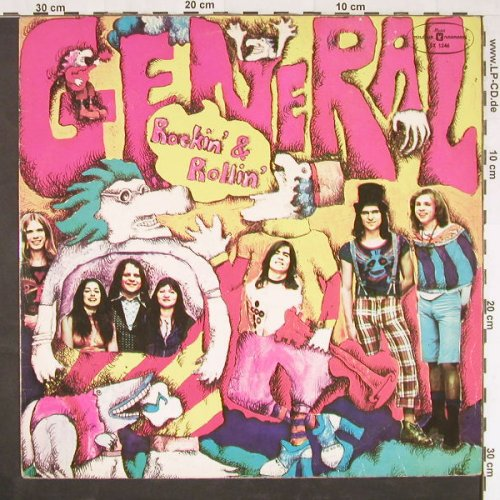 General: Rockin'and Rollin', Muza(SX 1246), PL, 1975 - LP - E928 - 7,50 Euro