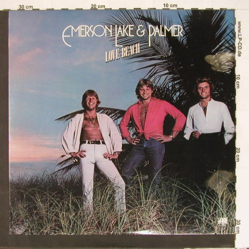 Emerson Lake & Palmer: Love Beach, co, Atlantic(SD 19211), US, 1978 - LP - E9360 - 5,00 Euro