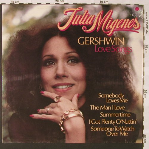 Migenes,Julia: Gershwin Love Songs, FS-New, Ariola(202 867-366), D,  - LP - E9368 - 9,00 Euro