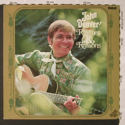 Denver,John: Rhymes & Reasons, RCA(26.21686), D, 1969 - LP - E9534 - 5,50 Euro
