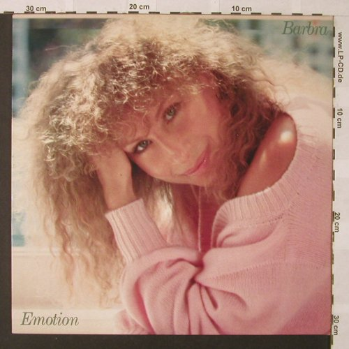 Streisand,Barbra: Emotion, CBS(86309), NL, 1984 - LP - E9653 - 5,00 Euro