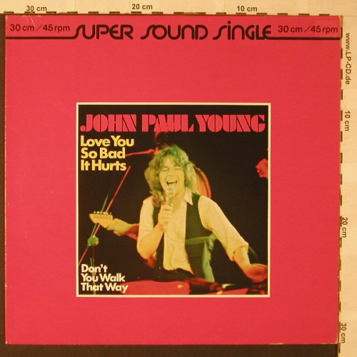 Young,John Paul: Love You So Bad It Hurts+1, Ariola(600 093-213), D, 1979 - 12inch - E9934 - 2,50 Euro