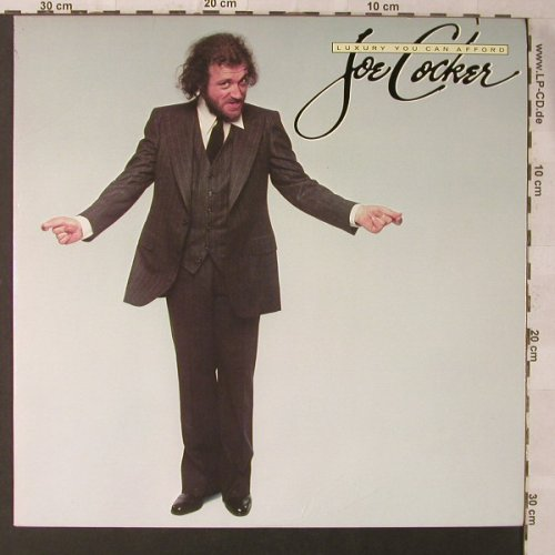 Cocker,Joe: Luxury You Can Afford, co, m-/vg+, Asylum(6E-145), US, 1978 - LP - F1095 - 3,00 Euro