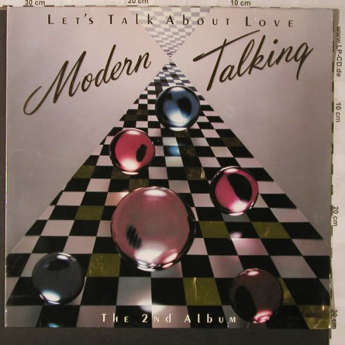 Modern Talking: Let's Talk About Love-Only Cover, Hansa(42 824 1), D, Club Ed, 1985 - Cover - F1147 - 1,00 Euro