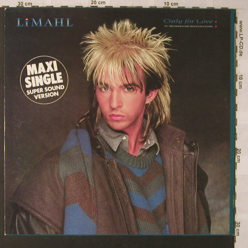 "Limahl: Only For Love*2+1,12""Mix, EMI(1078146), EEC, 1983 - 12inch - F1408 - 2,50 Euro"