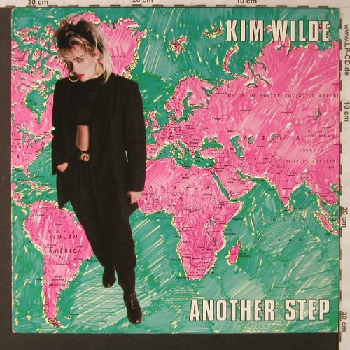 Wilde,Kim: Another Step, MCA(254 347-1), D, 1985 - LP - F1511 - 5,00 Euro