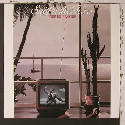 Sniff'n'The Tears: Ride Blue Divide, Chiswick(0067.081), D, 1982 - LP - F1556 - 5,00 Euro