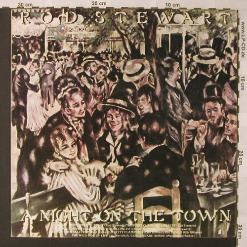 Stewart,Rod: A Night On The Town, WB(K 56234), Israel, 1976 - LP - F160 - 5,00 Euro