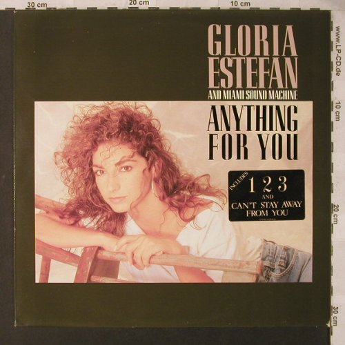 Estefan,Gloria & Miami Sound Machin: Anything For You, Epic(463125 1), NL, 1988 - LP - F1730 - 4,00 Euro