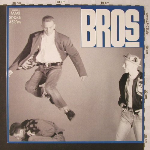 Bros: Drop The Boy*2+1, CBS(651360 6), NL, 1988 - 12inch - F1900 - 3,00 Euro
