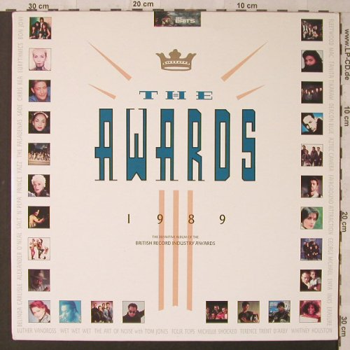 V.A.The Awards 1989: 30 Tr.,Foc, Telstar(STAR 2346), UK, 1989 - 2LP - F1917 - 7,50 Euro