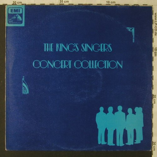 King's Singers: Concert Collection, EMI(CSD 3766), UK, 1976 - LPQ - F2017 - 7,50 Euro