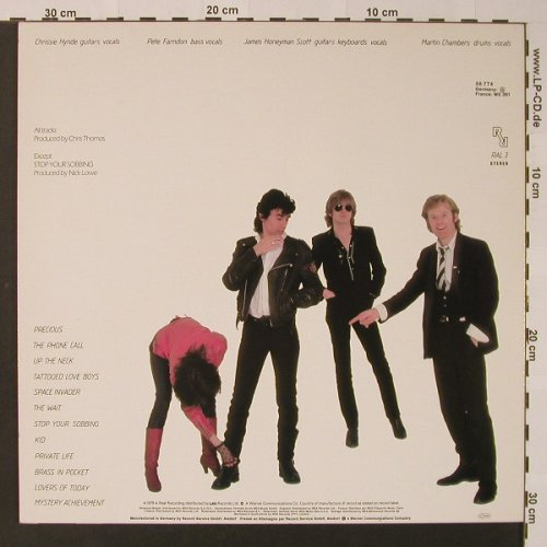 Pretenders: Same, Real Recording/Warner(56 774), D, 1979 - LP - F2822 - 5,00 Euro