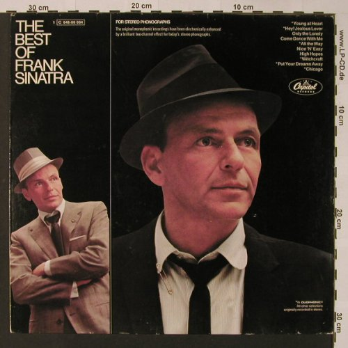 Sinatra,Frank: The Best Of, Capitol(C 048-80 064), D,  - LP - F3112 - 6,00 Euro