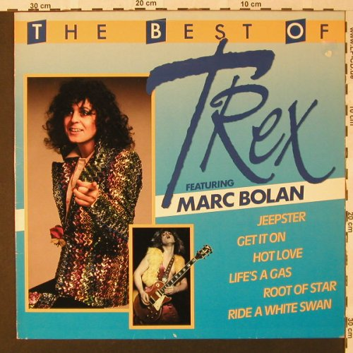 T.Rex feat. Marc Bolan: The Best Of, Ri, Polydor(HO-13), E/NL, 1971 - LP - F313 - 5,00 Euro