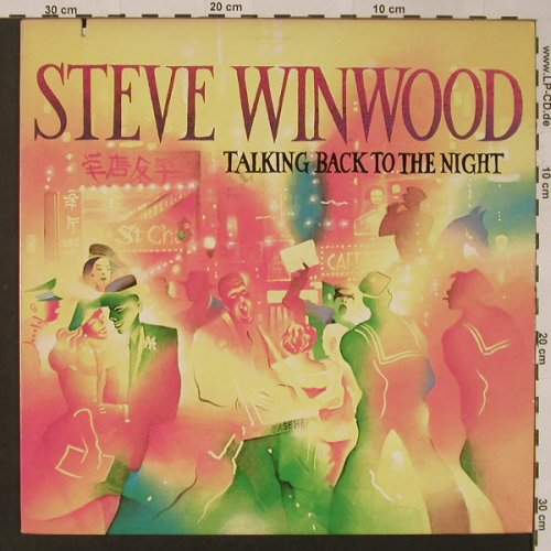 Winwood,Steve: Talking Back To The Night, co, Island(ILPS 9777), US, 1982 - LP - F3201 - 6,00 Euro