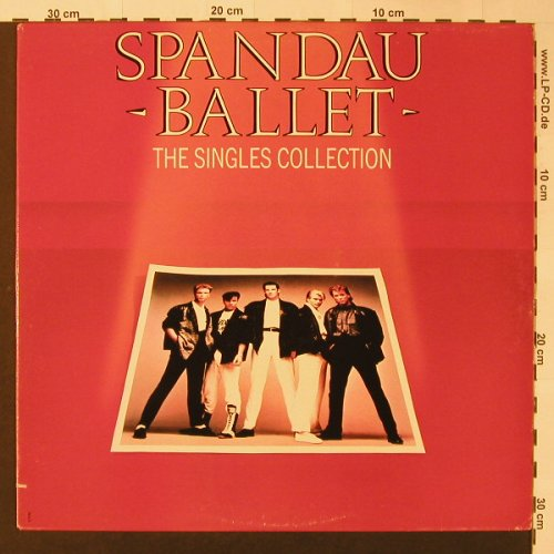 Spandau Ballet: The Singles Collection, Chrysalis(FV 41498), US, 1985 - LP - F3219 - 7,50 Euro
