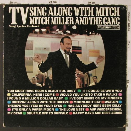 Miller,Mitch and the Gang: Sing Along With Mitch, vg+/vg+, Columb.(CL 1628), US,  - LP - F354 - 4,00 Euro