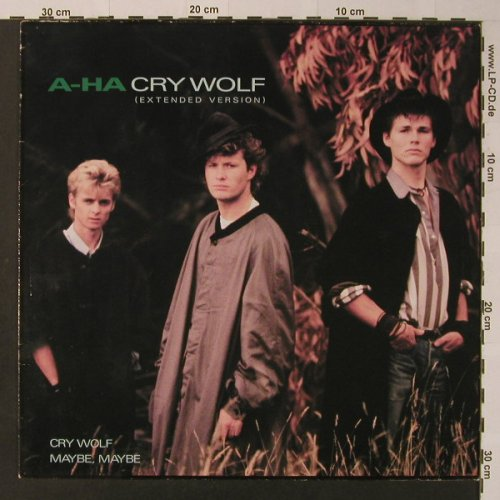 A-Ha: Cry Wolf *2/ Maybe, Maybe, WB(920 610-0), D, 1986 - 12inch - F3625 - 2,50 Euro