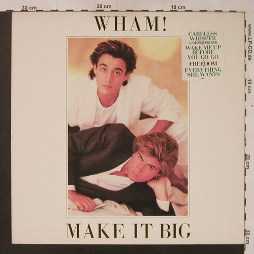 Wham!: Make It Big (white sticker), Epic(EPC 86311), NL, 1984 - LP - F3952 - 5,00 Euro