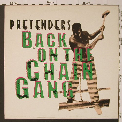Pretenders: Back On The Chain Gang +1, Real(ARE 19T), , 1982 - 12inch - F3987 - 2,50 Euro