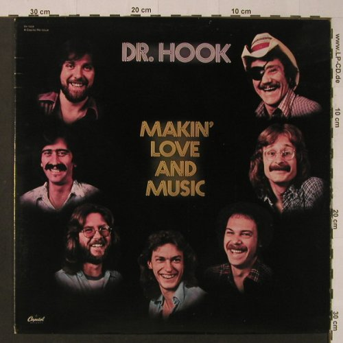 Dr.Hook: Makin'Love And Music, Capitol(SN-16228), D, 1977 - LP - F4091 - 5,00 Euro