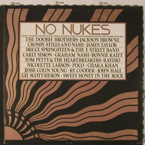V.A.No Nukes: 27 Tr., Foc, Booklet, Asylum(AS 62 027), D, 1979 - 3LP - F4164 - 9,00 Euro