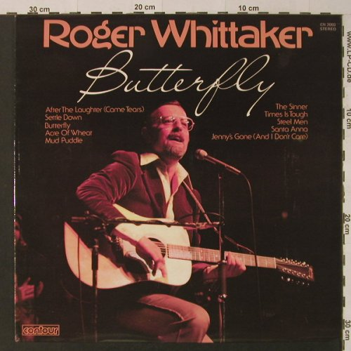 Whittaker,Roger: Butterfly, Contour(CN 2003), UK,  - LP - F4534 - 4,00 Euro
