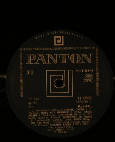 Plavci: Country Our Way, Panton(11 0509), CSSR, 1975 - LP - F4552 - 6,00 Euro