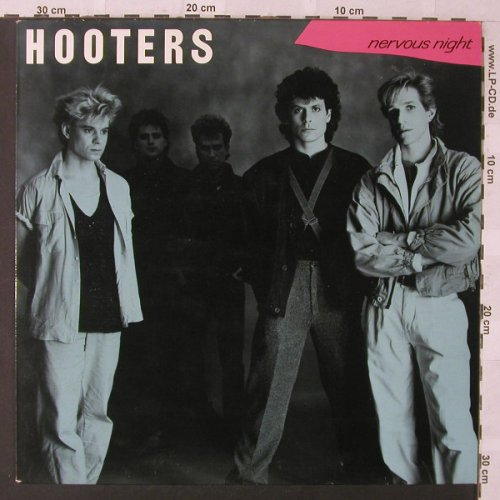 Hooters: Nervous Night, CBS(462485 1), NL, 1985 - LP - F468 - 5,00 Euro